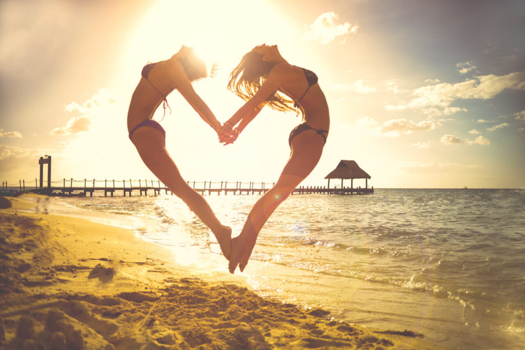 Strandurlaub Spass